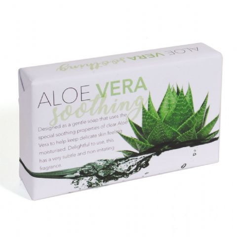 Aloe Vera Gentle Soothing Soap Slice - Bath Bubble & Beyond 120g